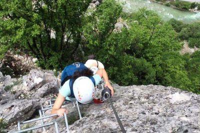 via ferrata fear of heights